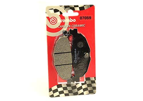 BREMBO - 07059 Pastillas de freno TRASERO Carbon Ceramic YAMAHA T-MAX y MAJESTY 400