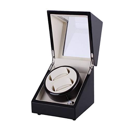 qazxsw Cajas de Enrollado de Reloj Caja de Reloj Reloj mecánico automático Cadena de bobinado Caja de Reloj Motor Gorila giratoria eléctrica