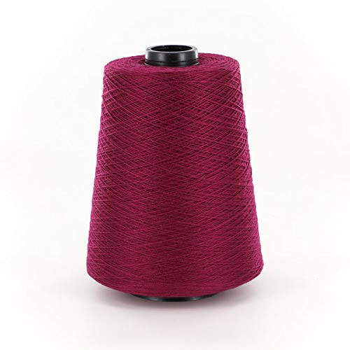 Valley Yarns 10/2 Mercerized Cotton Weaving Yarn, 10 Crochet Thread, 100% Cotton - #3794 Burgundy
