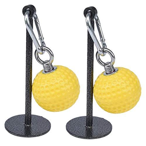 lahomia 2X Empuñaduras de Bola para Entrenador, Entrenamiento Muscular, Gimnasio, Agarre Manual