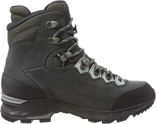 Lowa Damen Mauria GTX Ws Trekking- & Wanderstiefel, Schwarz (Asphalt/Jade 9362), 37 EU