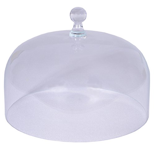 Cloche en verre exclusive - Toulouse Grand, rond - diamètre 29,5 cm