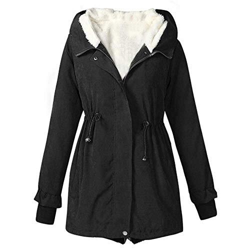 Dames winterjas katoenen mantel parka taille trekkoord wintermantel moderne unieke gezellige overgang mantel