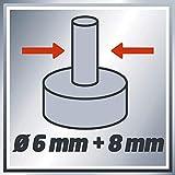 Einhell Oberfräse TC-RO 1155 E (1100 W, Ø 6 und 8 mm, Drehzahlregelung, Parallelanschlag, Absaugadapter, inkl. Zubehör) - 10