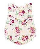 RuffleButts Baby/Toddler Girls Darling Bouquets Ruffle Romper - 6-12m