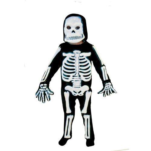 amscan- Déguisement-Garçon-Squelette 3D, 996244, 9-11 Ans