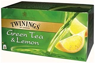 Twinings Green Lemon 25 Teabags