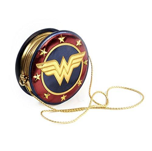 Bolso Wonder Woman (la Mujer Maravilla). Escudo. DC Comics