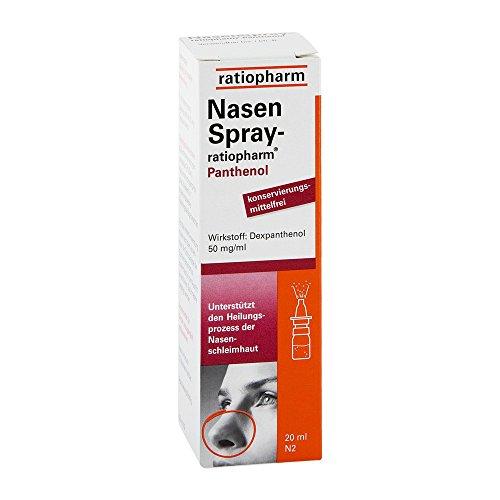 NasenSpray-ratiopharm Panthenol, 20 ml Lösung