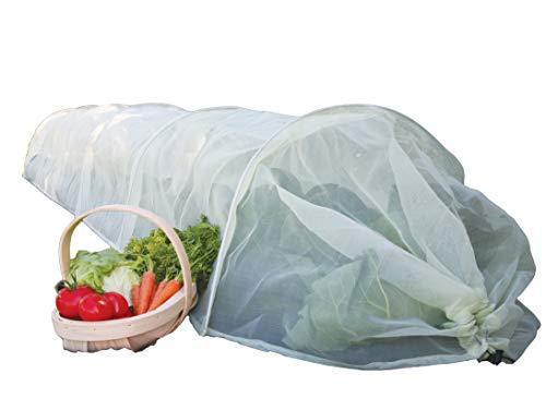 Haxnicks Tonnelle de Jardin Facile à Installer Micromesh Giant Blanc