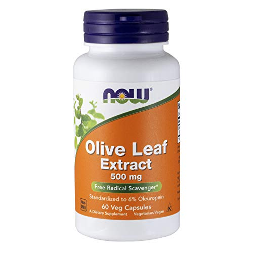 Now Foods Olive Leaf Extract 60 vcapsule, 500 mg