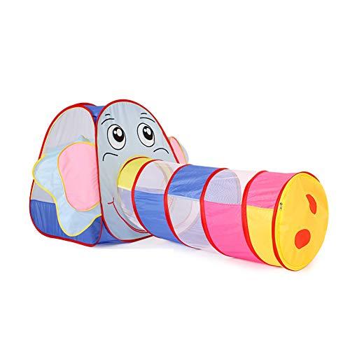 WGXY Zelt Pop-up Kinder Spielen Zelt tragbares Spielhaus im Freien Spielen Kinder Party Zelte 2-3 Kinder Indoor Toy House Geburtstagsgeschenk