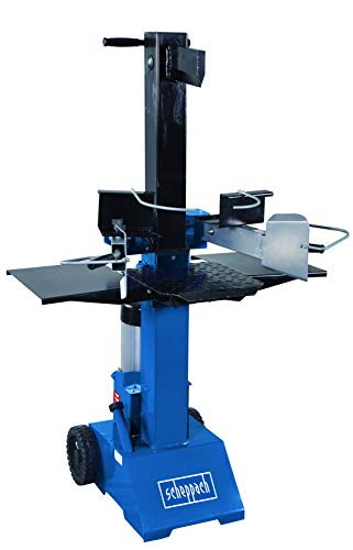 Scheppach HL810 Hydraulikspalter Holzspalter bis 550 mm | 8 Tonnen Spaltkraft 8t | Brennholzspalter 230V | Holzspalter stehend 3000 W