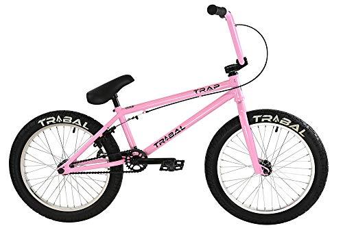 Tribal Trap BMX - Trampa para bicicleta, color rosa