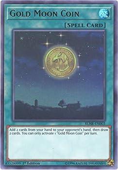 Yu-Gi-Oh! - Gold Moon Coin - BLHR-EN003 - Ultra Rare - 1st Edition - Battles of Legend  Hero s Revenge