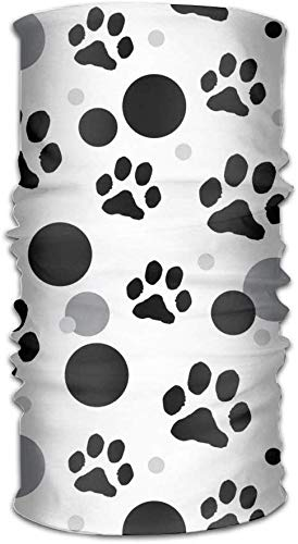 Dog Paw Print Unisex Sport Scarf Headbands Bandana Outdoor Sweatband Headwear