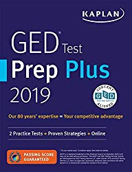 professional GED Test Prep Plus 2019: 2 Practical Tests + Proven Strategy + Online (Kaplan Test Preparation)