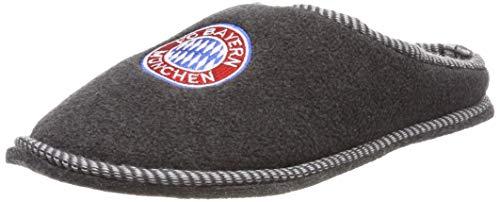 FC Bayern München Hausschuhe/Pantoffeln/Filzpantoffeln mit aufgesticktem Vereinswappen FCB (44)