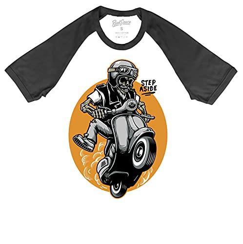 6TN Scooter T Shirt - Camiseta divertida para moto