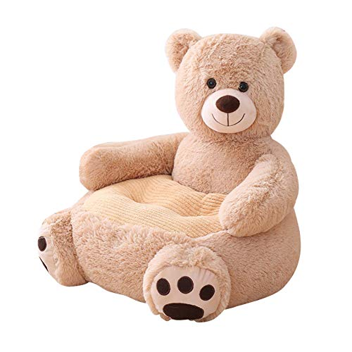 Domybest Copridivano per Bambini Senza Imbottitura Interna Seduta per Bambini in Peluche Poltrona per Bambini Morbida Divano per Bambini