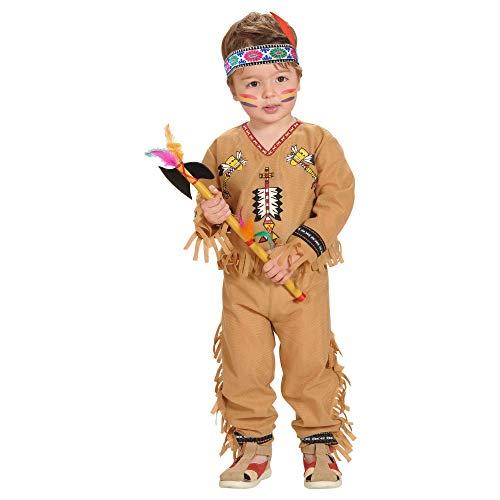 Widmann 48928 Kinderkostüm Indianer, Braun, 98 cm