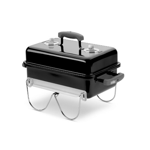 "Weber 121020 Go-Anywhere Charcoal Grill,Black,14.5"" H x 21"