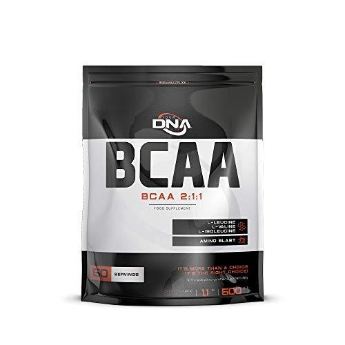 DNA BCAA Amino Acid 2:1:1 Pulver   Zitronen Geschmack   1er Verpackung (1 x 500 g)