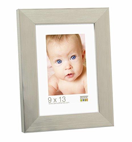 Deknudt Frames S41VD4 30 x 45 cornice grigio argento resina