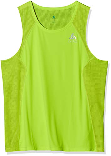 Odlo Tank CRIO Haut Homme, Safety Yellow, XL