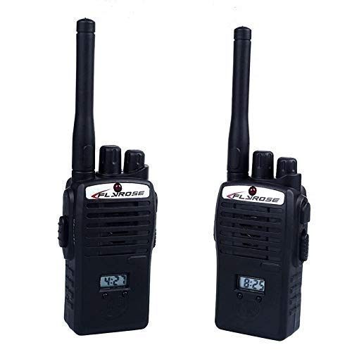 VGRASSP Portable Walkie Talkie Toy for Kids - Effective Communication Interphone - 2 Way Radio Toy with Up to 20 Meter Outdoor Range - Two 9V Batteries Included