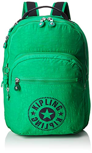 Kipling CLAS SEOUL School Backpack, 45 cm, 25 liters, Green (Lively Green)