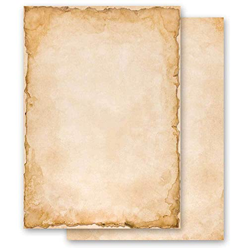 100 Blatt Briefpapier Motivpapier VINTAGE - DIN A5 Format - Paper-Media