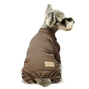 Fitwarm Turtleneck Thermal Dog Clothes Puppy Pajamas Doggie Outfits Cat Onesies Jumpsuits