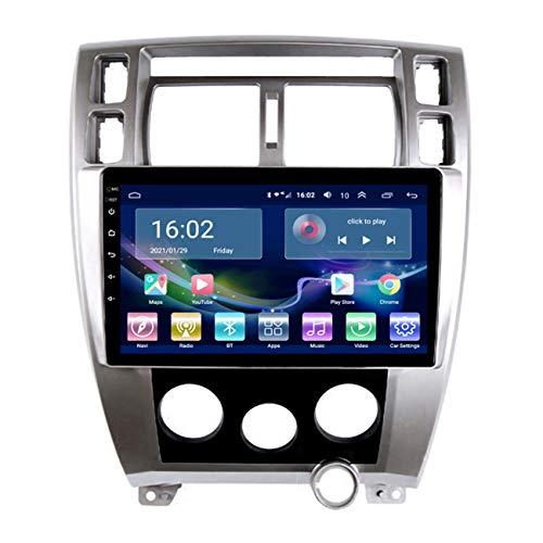 Radio de coche, 10'' IPS Android 10 para Hyundai Tucson 2006-2014, reproductor de navegación GPS Multimedia Auto estéreo WIFI, enlace espejo, reproducción de video 1080P,4g+wifi 1g+32g