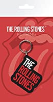 The Rolling Stones キーホルダー Keychain classic Band Logo 新しい 公式 Rubber