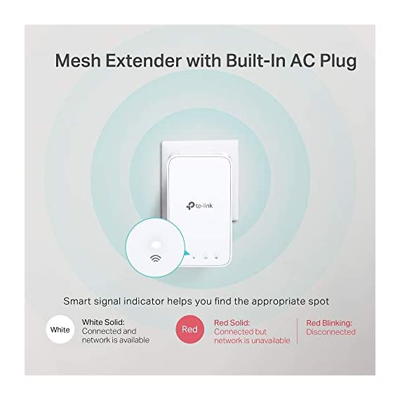 TP-Link Deco E3(2-Pack) AC1200 Whole Home Mesh WiFi System 5 Deco E3 uses both a Deco E4R and Deco M3W mesh range extender to achieve seamless whole-home WiFi coverage up to 2, 500 square feet.
