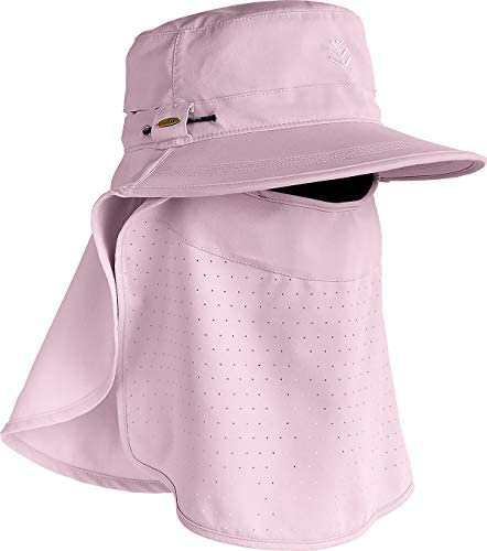 Coolibar UPF 50 Kids Stevie Ultra Sun Hat Sun Protective Small Medium Dusty Mauve product image