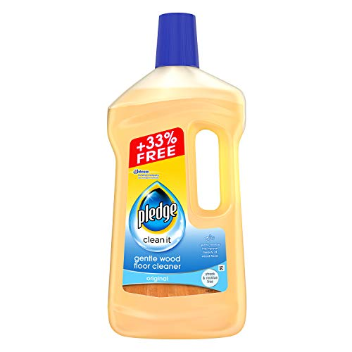 Pledge Clean It Gentle Wood Floor Cleaner Original 1L