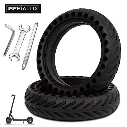 IBERIALUX x2 Pack neumático Macizo 8,5 Pulgadas para