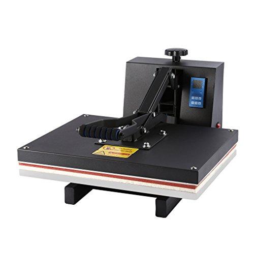 Dalkey123 Pressa a Caldo 40×50 cm Pressa di Calore Macchina Sublimazione Pressa per Stampa Magliette Trasferimento per T-Shirt Tappo Tazza