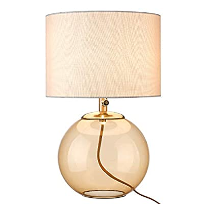 "Glass Table Lamp, LMS 23.2"" Tall Modern Gla..."