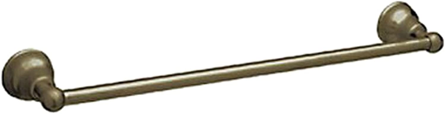 Rohl CIS1 24TCB 24-Inch Single Towel Bar in Tuscan Brass