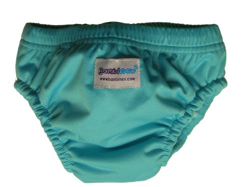 Bambinex 032097T Swim Nappy Turchese, Large