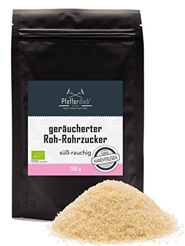 geräucherter Roh-Rohrzucker BIO, 250g - by Pfefferdieb®