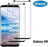 Galaxy S8 Screen Protector [2-Pack], Tempered Glass Screen...