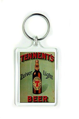 Tennents zuiver licht lager bier acryl sleutelhanger sleutelhanger