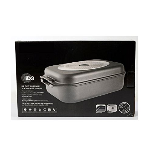 ID3 Hard Anodised Roast and Grill 34 x 24cm | Baccarat 1018120