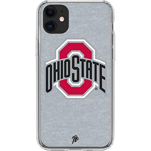 Skinit Clear Phone Case Compatible with iPhone 11 - Officially Licensed Ohio State University OSU Ohio State Logo Design