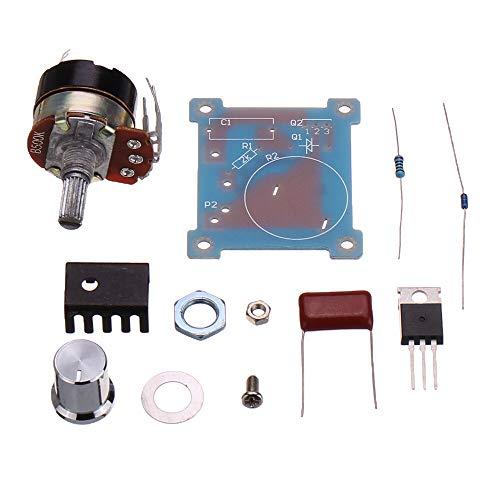 Fácil de montar 220V 500W que amortigua el regulador de voltaje de regulación de temperatura del interruptor de control de velocidad variable Infinity Reglamento Módulo DIY parte 5 x velocidad conveni