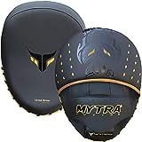 Mytra Fusion Focus Pads - Juego de guantes para boxeo (2 unidades), color negro